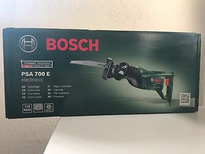 Brand New Bosch PSA-700E 240v Reciprocating Saw 710W Sabre Saw