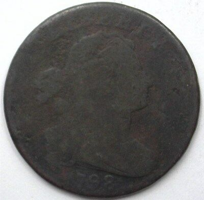 1798 Draped Bust Large Cent  Good