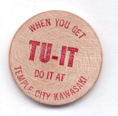 When You Get Tu-It Do It At Temple City Kawasaka-W. Nickel-One 1/2 Inches Width