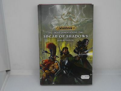 Age of  Sigmar Roman - Spear of Shadows - Englisch, Hardcover - NEU