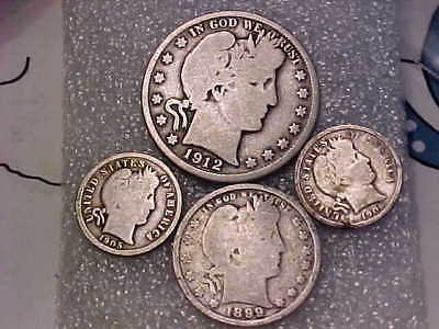 Mixed lot of Vintage U.S. Silver Coins- All 90%- $.95 F.V. .99 Start No Reserve