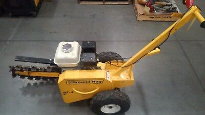 "Ground Hog T-4  Trencher 3 x 18"" Pull Type"