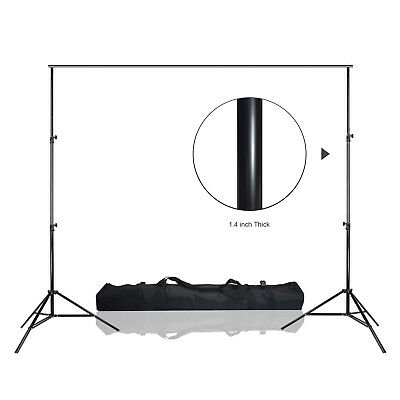 10ft x 12ft Heavy Duty Photography Studio Background Muslin Stand Support System