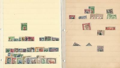 Liberia Collection on 6 Stock Pages, Many nice Older Stamps