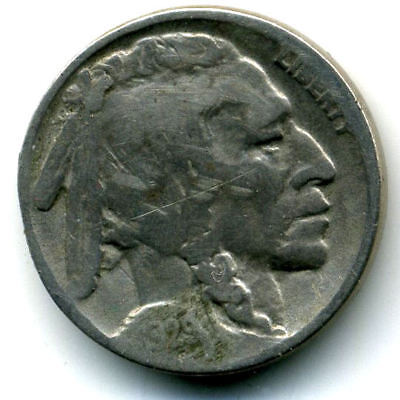1929 P Buffalo Indian Head Nickel Key Date US Circulated 5 Cent Coin U.S.A-1#184