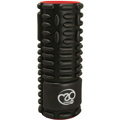 Fitness Mad Vari Roller Unisex Sports Recovery Massage Tool - Black Red One Size