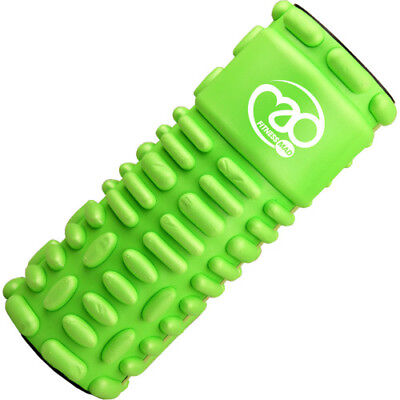 Fitness Mad Vari Roller Unisex Sports Recovery Massage Tool - Green Black