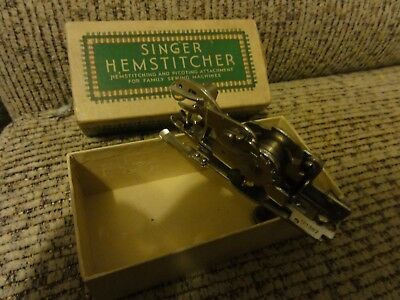Singer Hemstitcher and Picoting Attachment