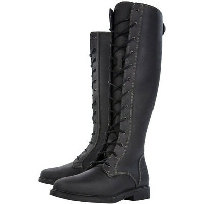 Derby House Classic Womens Boots Long Riding - Black All Sizes