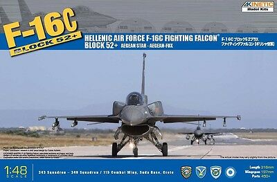 KINETIC 48028 F-16C Block 52+ Fighting Falcon® Hellenic Air Force in 1:48