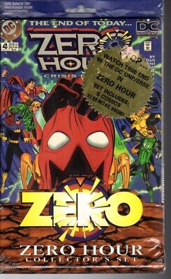 DC Comics Zero Hour Collectors Set Sealed in Original Packaging