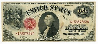 Fr. 39 $ 1917 Dollar Legal Tender U.S. Note VF - ink