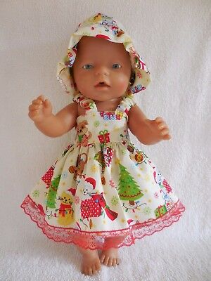 """Baby Born 17""""  Dolls Clothes Christmas  Summer  Outfit"""