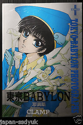 "JAPAN Clamp Illustrations ""TOKYO BABYLON Photographs"" (Official Art Book)"