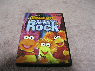 2005 Jim Henson's Fraggle Rock Live By The Rule Of The Rock Kids 170 Minute Dvd