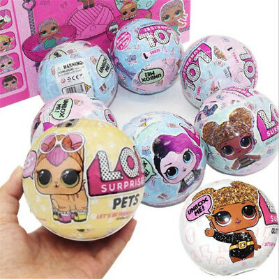 Authentic Series 2 LOL Surprise Doll 7 Layers L.O.L Big Sisters 1 Ball Gift New