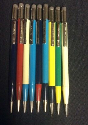 LOT OF 9 VINTAGE MECHANICAL PENCILS AUTO POINT Beautiful Condition