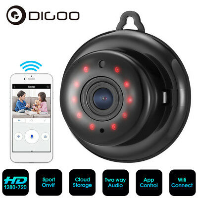 Digoo Cloud Storage Smart Home WiFi Baby Monitor IP Camera IR Night Vision Onvif