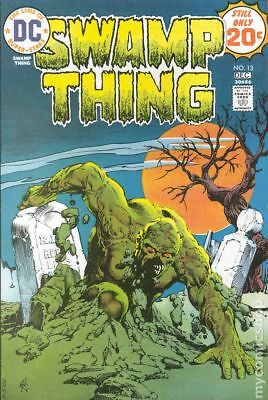 Swamp Thing (1st Series) #13 1974 FN- 5.5 Stock Image Low Grade
