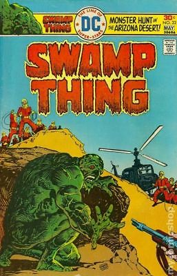 Swamp Thing (1st Series) #22 1976 VG/FN 5.0 Stock Image Low Grade