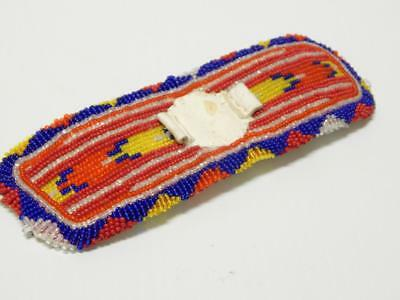 Vintage Beaded N. Plains Indian Watchband Blackfeet - A+Colors+Condition