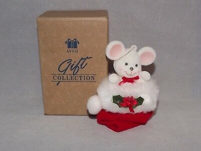 Vintage Avon Peek-A-Boo Mouse In Box Excellent Condition