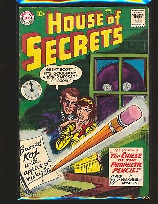 House of Secrets # 23 - 1st Mark Merlin G/VG Cond.