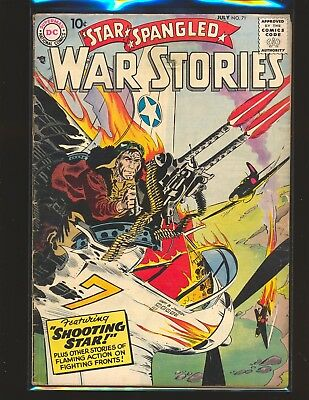 Star Spangled War Stories # 71 G/VG Cond. water damage