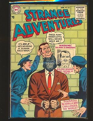 Strange Adventures # 55 G/VG Cond. bottom staple detached