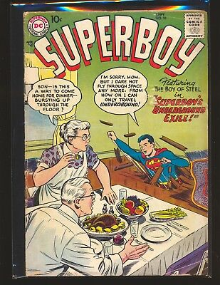 Superboy # 59 Good+ Cond. water damage