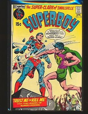 Superboy # 173 - Neal Adams cover VF+ Cond.