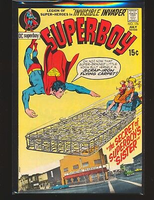 Superboy # 176 - Neal Adams cover VF+ Cond.