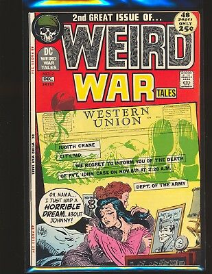 Weird War Tales # 2 - Drucker & Crandall art VF Cond.