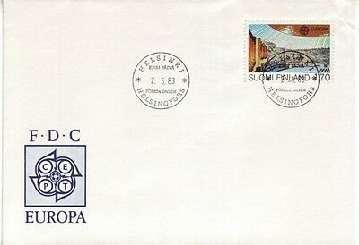 Finland - Special Events, Views, & Anniversaries (3no. FDC's) 1980-87