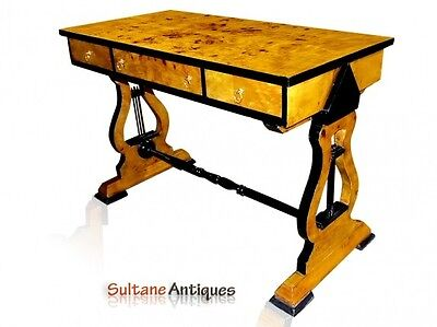 Gorgeous Maple Biedermeier style Desk