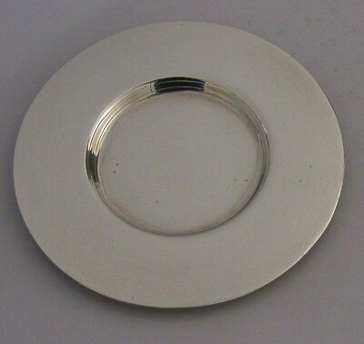 Northallerton Solid Sterling Silver Communion Paten 1945 Frank Finley Clarkson