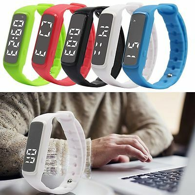 Children Fitness Band Activity TrackerWatch Bracelet Kid Pedometer Fitbit Style