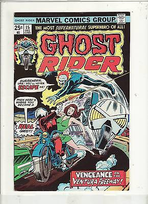 Ghost Rider #15 Vf To Vf+