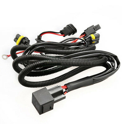 9005 9006 Relay Wiring Harness For HID Conversion Kit, And-On Fog Light LED DRL