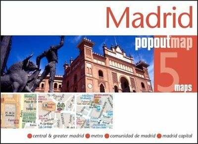 Madrid PopOut Map by PopOut Maps 9781845879969 (Sheet map, folded, 2014)