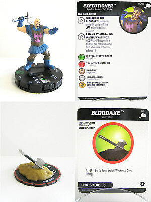 Heroclix - #029a Executioner + #s001 Bloodaxe - The Mighty Thor