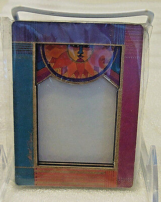 """Laurel Burch """"SUNRISE"""" Frame with Magnets--Canada"""