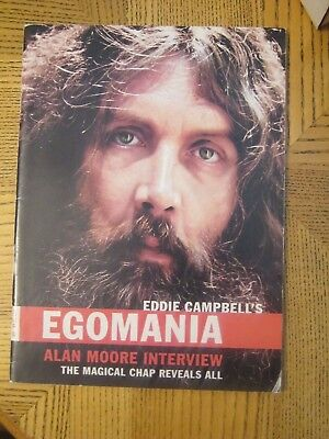 Egomania #  2 December 2002 Alan Moore Interview - Eddie Campbell's