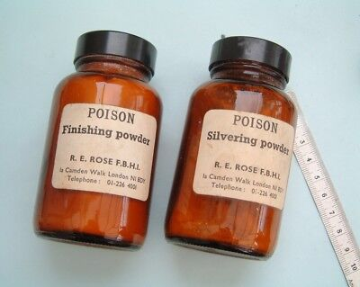 Longcase Grandfather clock Silvering Powders or salts For silvering clock dials