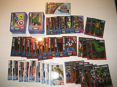 235 Karten Hero Attax Avengers