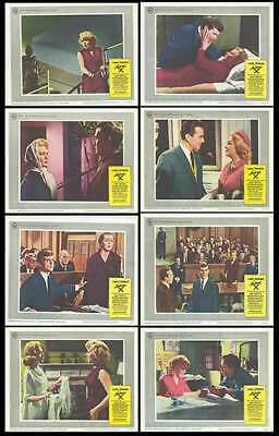 MADAME X orig 1966 lobby card set LANA TURNER/KEIR DULLEA 11x14 movie posters