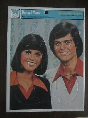Donny & Marie Osmond  Whitman Puzzle 1977