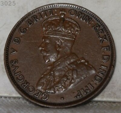 """1926 Australian One Penny """"XF+"""" *Free S/H After 1st Item*"""