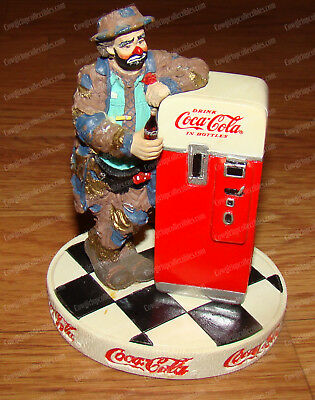 Pause that Refreshes (Coca-Cola Limited, 350109) Emmett Kelly, Coke (1997)