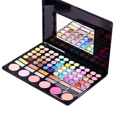 78 Colour Eyeshadow Eye Shadow Palette Makeup Kit Set Make Up Box with Mirror